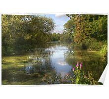 Little Britain Lake near Cowley Poster