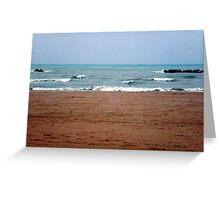 il mare d'inverno.....the sea in winter......ITALIA - EUROPA - VETRINA RB EXPLORE 24 NOVEMBRE 2013- Greeting Card