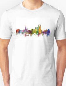 Bath England Skyline Cityscape Unisex T-Shirt