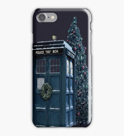 Dr. Who - Christmas! iPhone Case/Skin