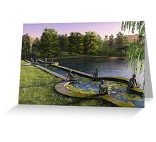 The Lake of Nymphs Greeting Card