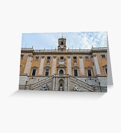 Rome - Campidoglio  Greeting Card