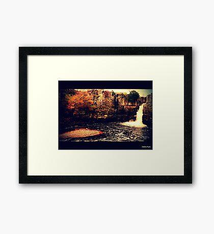 High Force Waterfall Framed Print