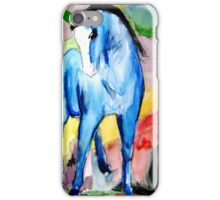 Abstract Watercolour Horse iPhone Case/Skin