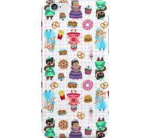 Cute Princesses and Junk Food iPhone Case/Skin