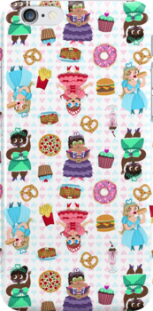 Cute Princesses and Junk Food by Chantal Moosher