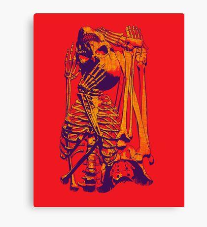Puzzle Bone Canvas Print