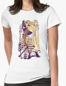 Puzzle Bone Womens Fitted T-Shirt