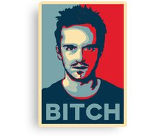 Pinkman, Bitch! Canvas Print