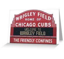 Cubs Ballclub Greeting Card