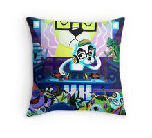 DJ KK Animal Crossing Throw Pillow