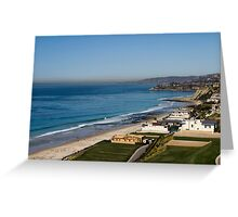 Pacific Shore Greeting Card