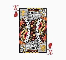 Horror Skeleton King Playing Card T-Shirt