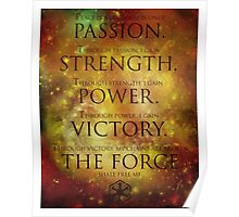 Sith Code Poster