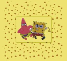 Sponge Bob Square Pants And Patrick by MeenakshizArt