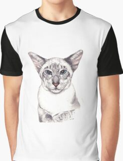 Oriental Lady Graphic T-Shirt