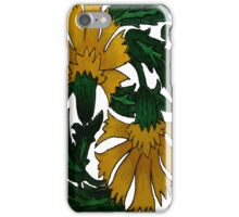Dandelion Flower Tile iPhone Case/Skin