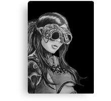 Steam Punk Woman Canvas Print