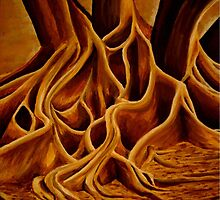 Tree Roots by Becky Pike