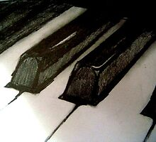 Noire Piano by Becky Pike