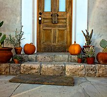 Autumn Time in the Barrio by Lucinda Walter