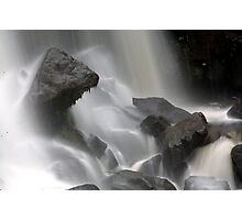 Streaming Water Photographic Print