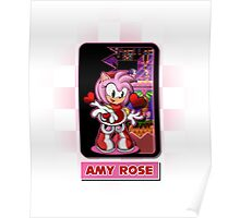 AMY ROSE Poster