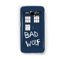 Tardis - In Your Pocket (BAD WOLF EDITION) Samsung Galaxy Case/Skin