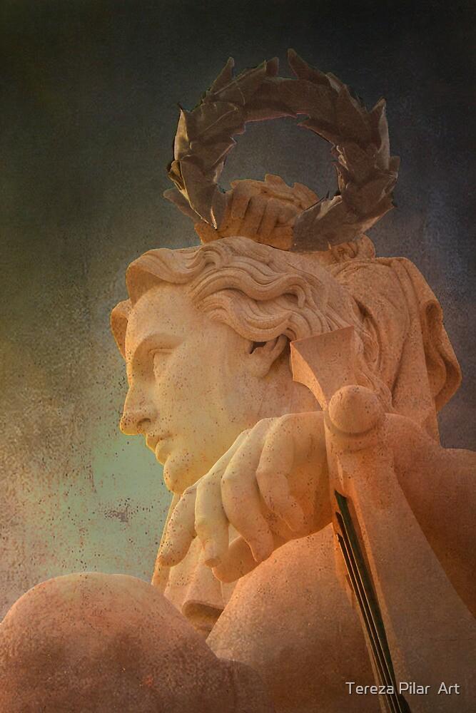 Anjo Génio. Angel Genius. Triumph Arch. by terezadelpilar ~ art & architecture