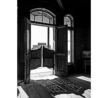 The Swinging Doors Photographic Print