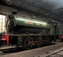 National Coal Board Engine 49 by Andrew Pounder