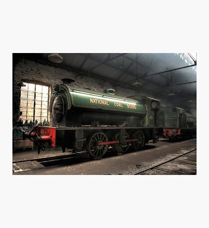 National Coal Board Engine 49 Photographic Print
