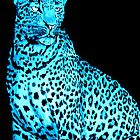 Blue Leopard by Becky Pike