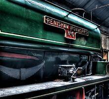 Renishaw Ironworks No 6 by Andrew Pounder