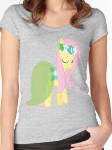 Springtime Fluttershy Women's Fitted Scoop T-Shirt