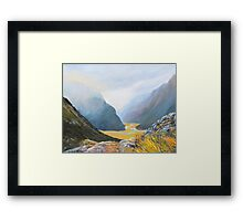 Routeburn Track Summit Framed Print