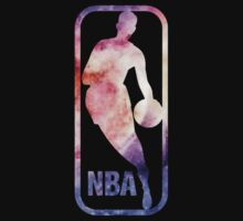 NBA Logo- Galaxy by ksanwal