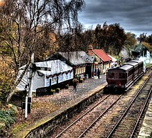 Tanfield Railway: Andrews House Station by Andrew Pounder