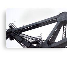 Third Street Bridge and Seagull Metal Print
