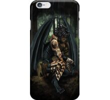 Winged Demon iPhone Case/Skin