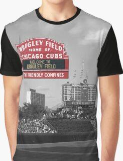 Chicago Home of Baseball Fever Graphic T-Shirt