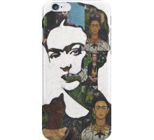 Frida Kahlo Paintings and Photographs Mix Phone Case iPhone Case/Skin