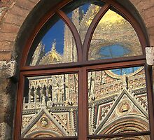 Siena cathedral reflection, Siena, Italy by buttonpresser