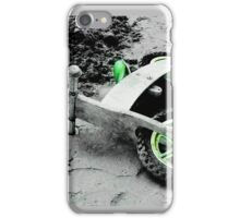 Green Wheels and Black Tyres  iPhone Case/Skin