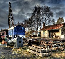 Tanfield Railway Yard by Andrew Pounder