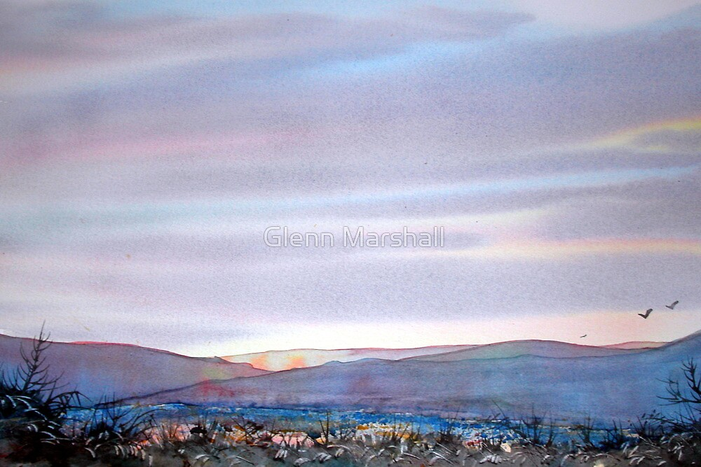 Over the Tops, North Yorkshire Moors by Glenn Marshall