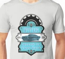 Vintage car Mustang GT 1964 1968 Unisex T-Shirt