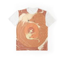 Foxes Graphic T-Shirt