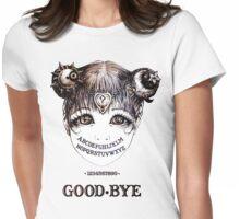 MIDNIGHT CALLGIRL Womens Fitted T-Shirt