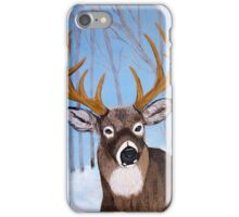 Winter Buck iPhone Case/Skin